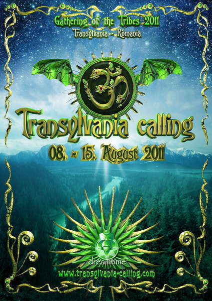 Party Flyer Transylvania Calling 2011 8 Aug '11, 15:00