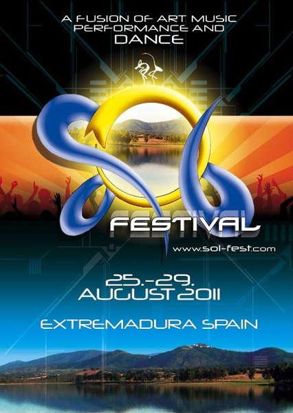Party Flyer SOL FESTIVAL 2011 25 Aug '11, 10:00