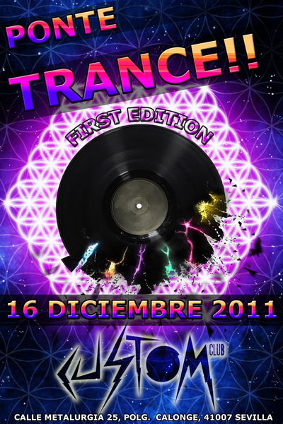 Party Flyer ૐ PONTE TRANCE ૐ 16 Dec '11, 23:30