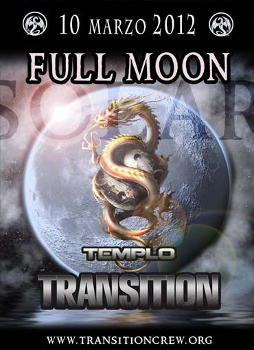 Party Flyer FULL MOON Solar 10 Mar '12, 23:30