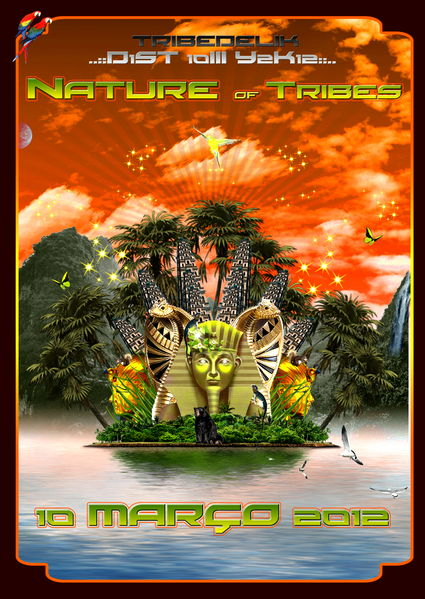 Party Flyer NATURE of TRIBES 10 Mar '12, 23:00
