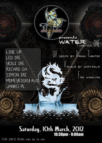 Party Flyer water 10 Mar '12, 22:30