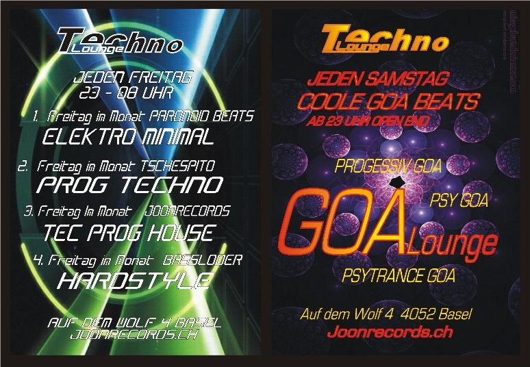 Party Flyer GOALOUNGE 24 Mar '12, 23:00