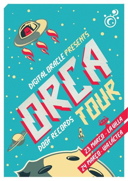 Party Flyer ORCA TOUR 24 Mar '12, 23:00
