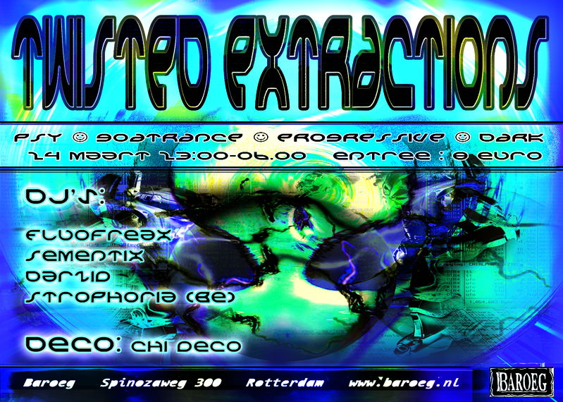 Twisted Extractions 24 Mar '12, 23:00
