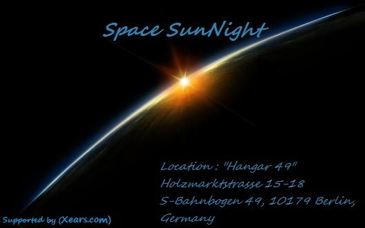 Party Flyer Space SunNight 25 Mar '12, 08:00