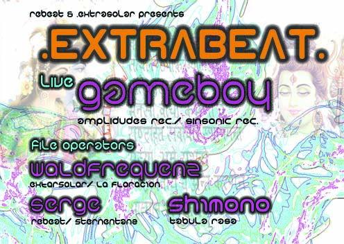 Party Flyer EXTRABEAT 31 Mar '12, 23:00