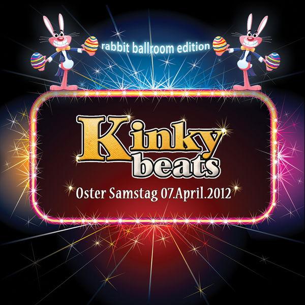 "Party Flyer KINKY BEATS ""Perfect Stranger & Julian Jeweil Live"" 7 Apr '12, 23:00"