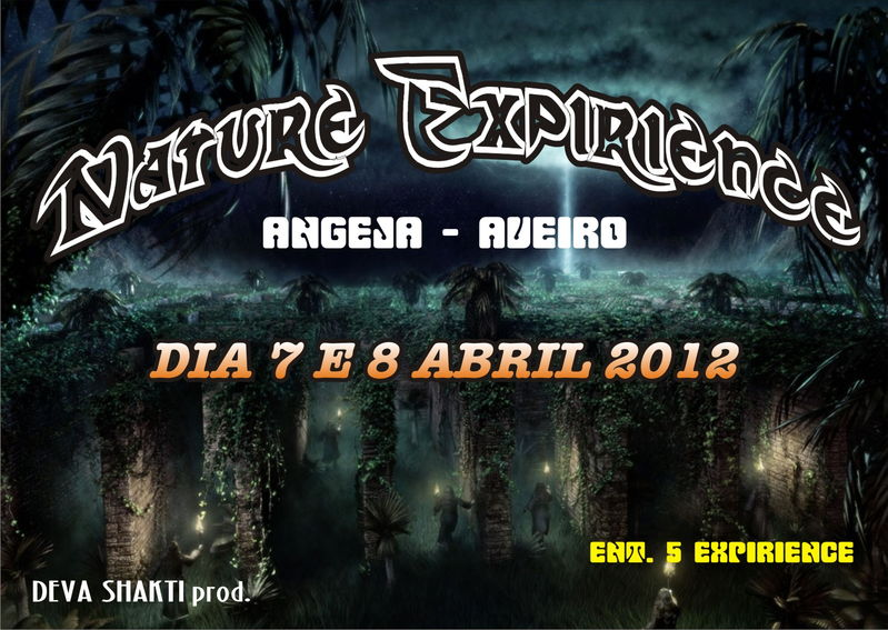 Party Flyer Nature Expirience 7 Apr '12, 22:00