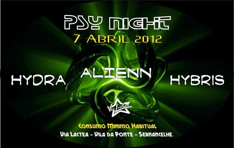 Party Flyer Psy Night 7 Apr '12, 23:00