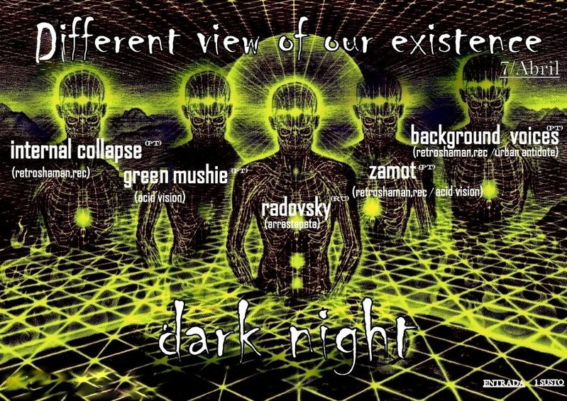 Party Flyer THE DIFFERENT VIEW OF OUR EXISTENCE 7 Apr '12, 23:30