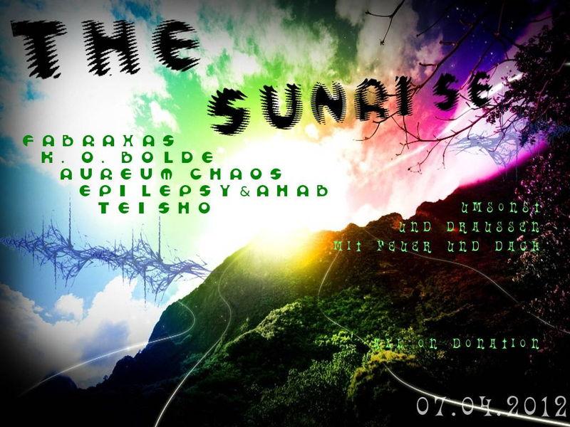 Party Flyer The Sunrise 7 Apr '12, 22:00