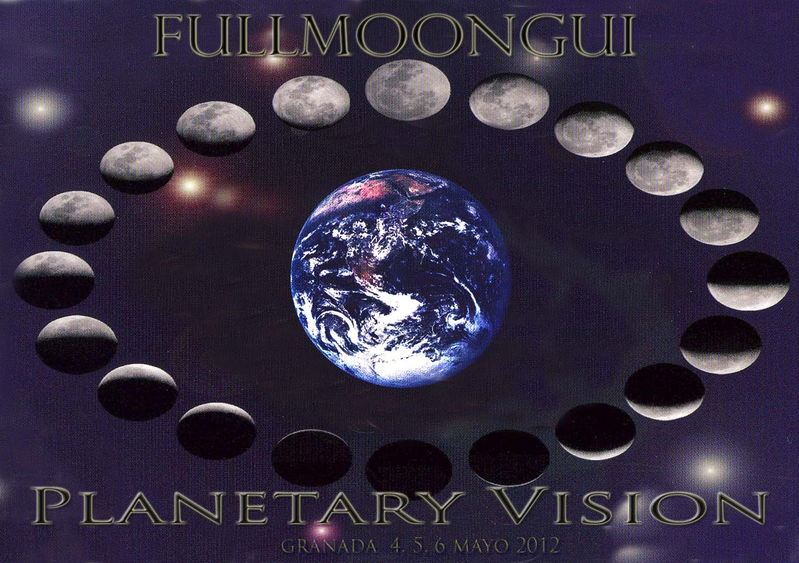 Party Flyer Fullmoongui - Planetary Vision 4 May '12, 22:00