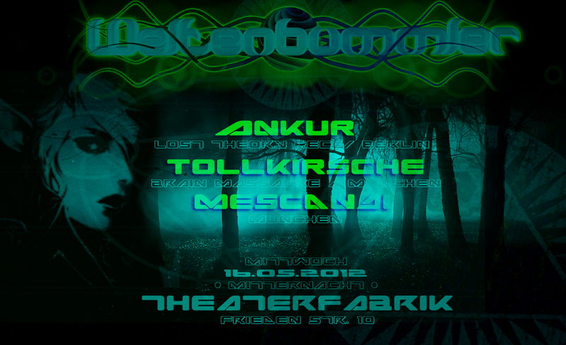 Party Flyer WELTENBUMMLER 16 May '12, 23:30