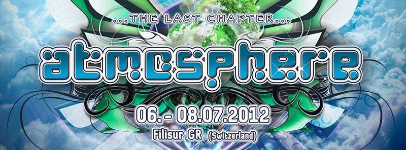 Party Flyer Atmosphere-Festival 2012 6 Jul '12, 18:00