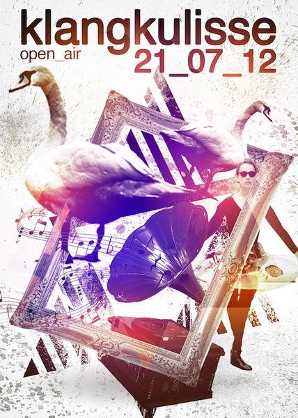 Party Flyer Klangkulisse OPEN AIR!!! 21 Jul '12, 18:00