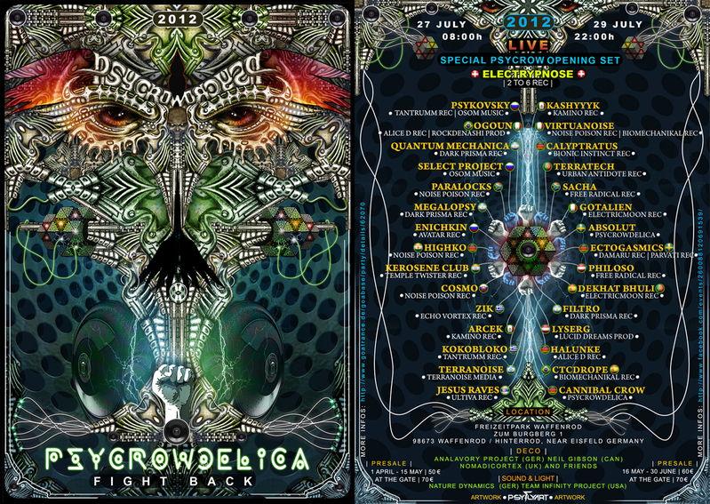 PsyCrowDelica --- Fight Back !!!! 27 Jul '12, 08:00