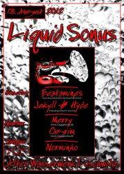Party Flyer Liquid Sonus 18 Aug '12, 20:00
