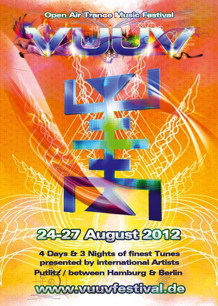 Party Flyer VuuV Festival 2012 24 Aug '12, 22:00