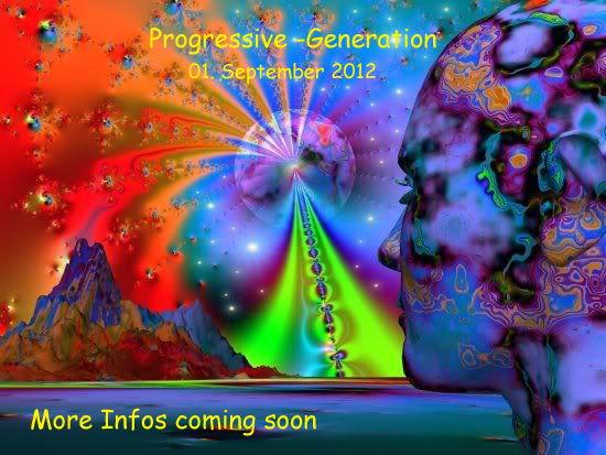 Party Flyer Progressive -Generation 1 Sep '12, 22:00