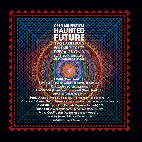 Haunted Future Festival 19 Oct '12, 19:00