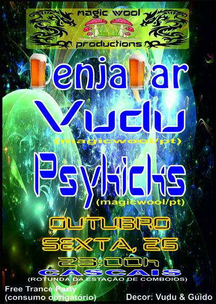 Party Flyer Magic Wool Trance Party 26 Oct '12, 23:00