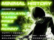 Party Flyer MINIMAL HISTORY - EVERY FRIDAY 26 Oct '12, 22:00