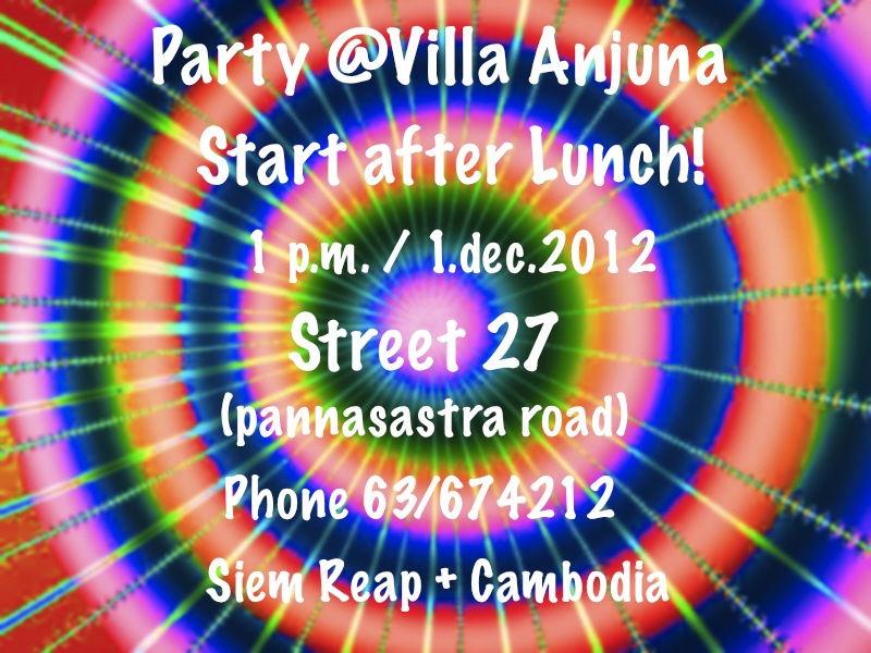 Party @ Villa Anjuna 1 Dec '12, 13:00