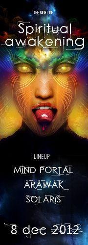 Party Flyer Spiritual Awakening 8 Dec '12, 22:00