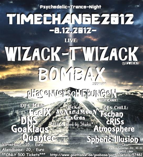 """Party Flyer ¨°º¤ø""""¸¸""""ø°2012Time Change°ø""""¸¸""""ø¤º°¨ 8 Dec '12, 22:00"""