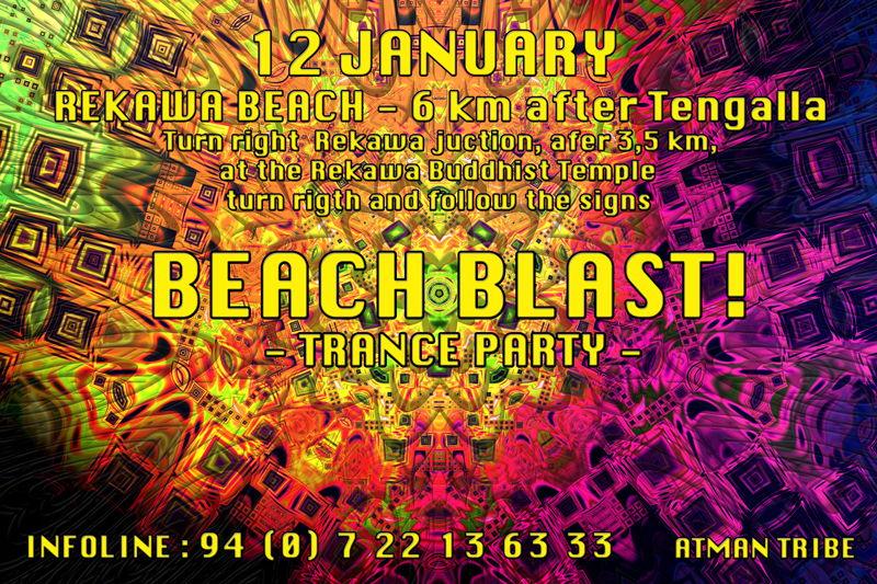 Party Flyer Beach Blast 2 12 Jan '13, 10:00