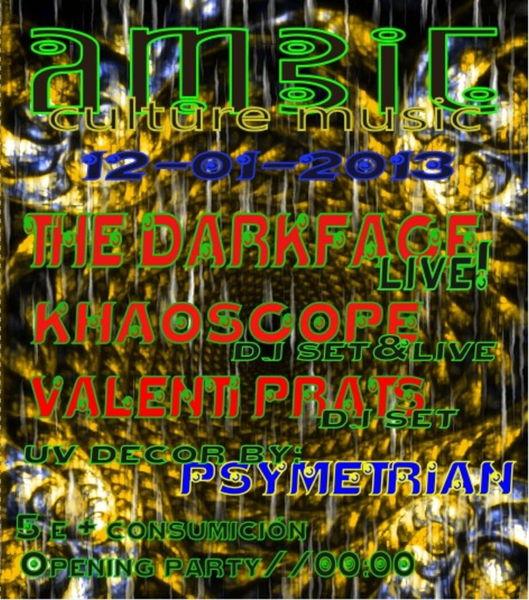 Party Flyer Psytrance@Ambit club 12 Jan '13, 23:30