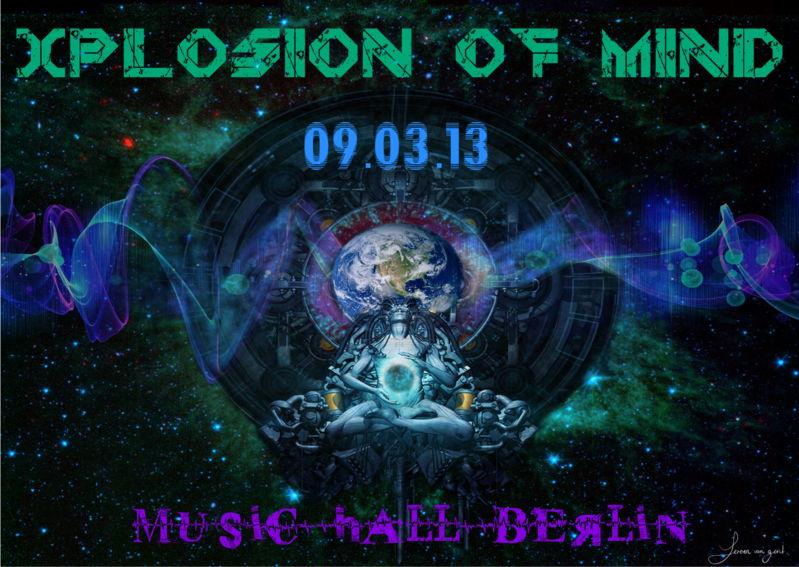 ॐ XPLOSION OF MIND ॐ 9 Mar '13, 22:00