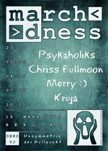 Party Flyer March Madness 16 Mar '13, 23:00