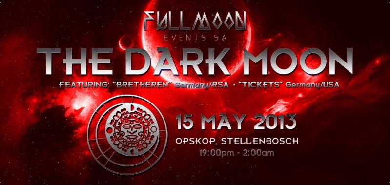 Party Flyer The Dark Moon 17 Mar '13, 19:00