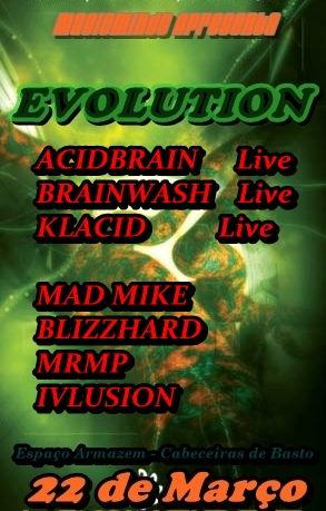 EVOLUTION 22 Mar '13, 23:00