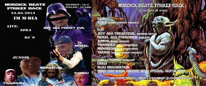 Nordick Beatz strikes Back 23 Mar '13, 23:00
