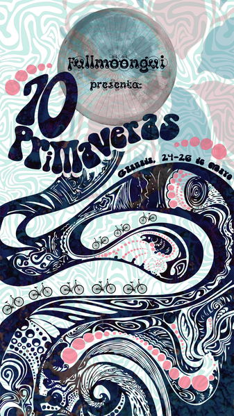 Party Flyer Fullmoongui - 70 Primaveras 24 May '13, 23:00