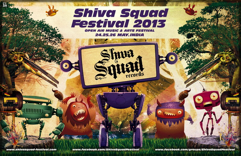 SHIVA SQUAD FESTIVAL 2013 24 May '13, 10:00