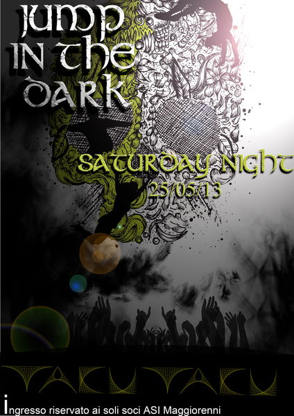 Party Flyer JUMP IN THE DARK 25 May '13, 23:30