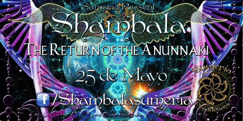 Party Flyer SHAMBALA 25 May '13, 23:30