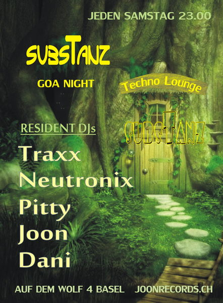 Party Flyer subsTanz Night 25 May '13, 23:00