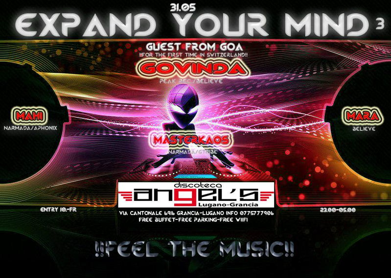 Party Flyer Expand your mind 3 31 May '13, 23:00