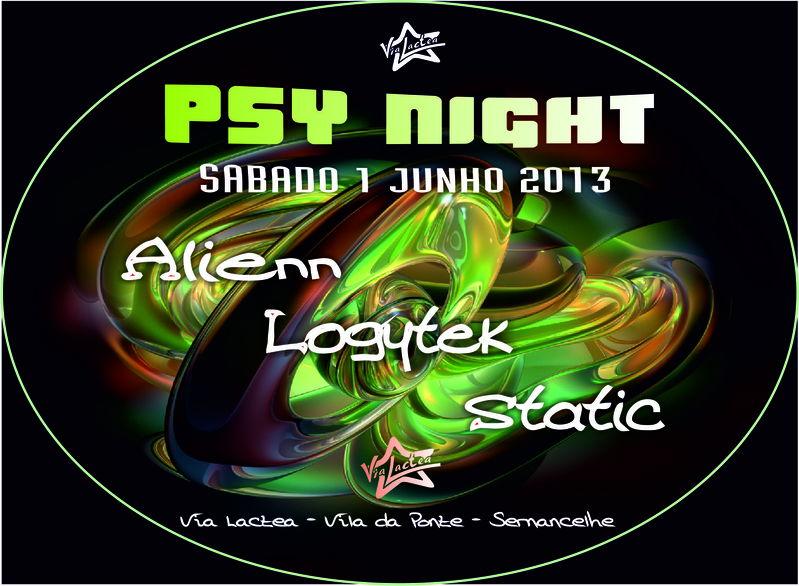 Party Flyer Psy Night 1 Jun '13, 23:30