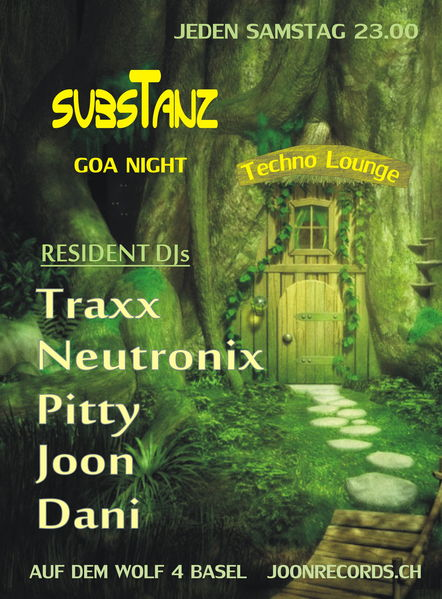 Party Flyer subsTanz 1 Jun '13, 23:00