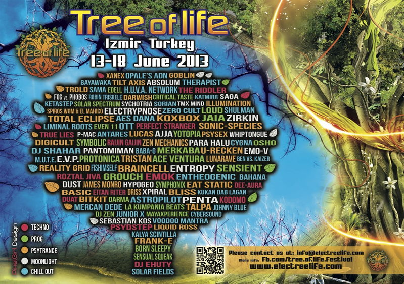Tree of Life Festival 2013! 13 Jun '13, 18:00