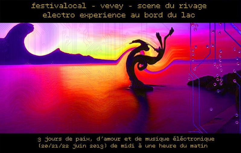 Party Flyer Festivalocal 20 Jun '13, 16:00