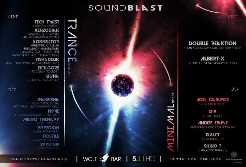 Sound Blast 5 Jul '13, 23:30