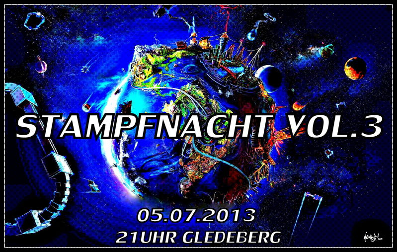 Party Flyer STAMPFNACHT VOL.3 5 Jul '13, 21:00