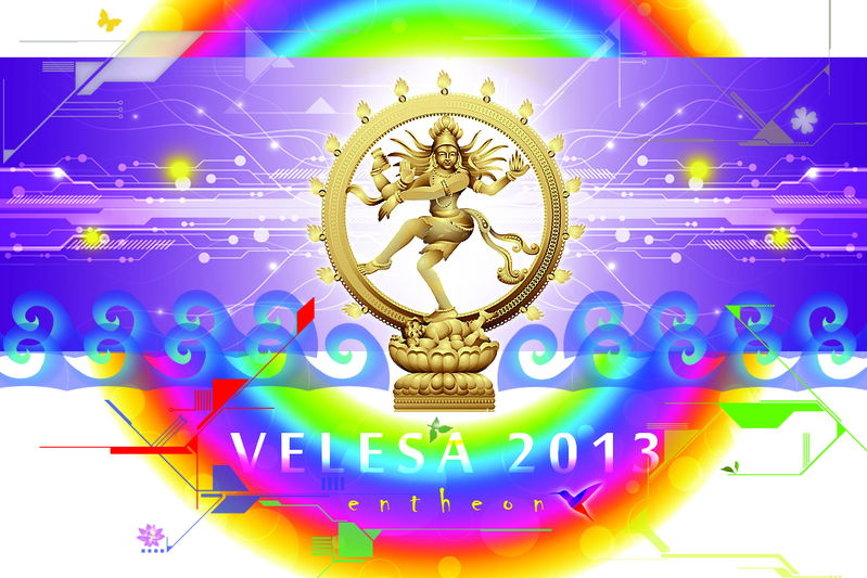 Party Flyer VELESA 2013 // Entheon 19 Jul '13, 20:00